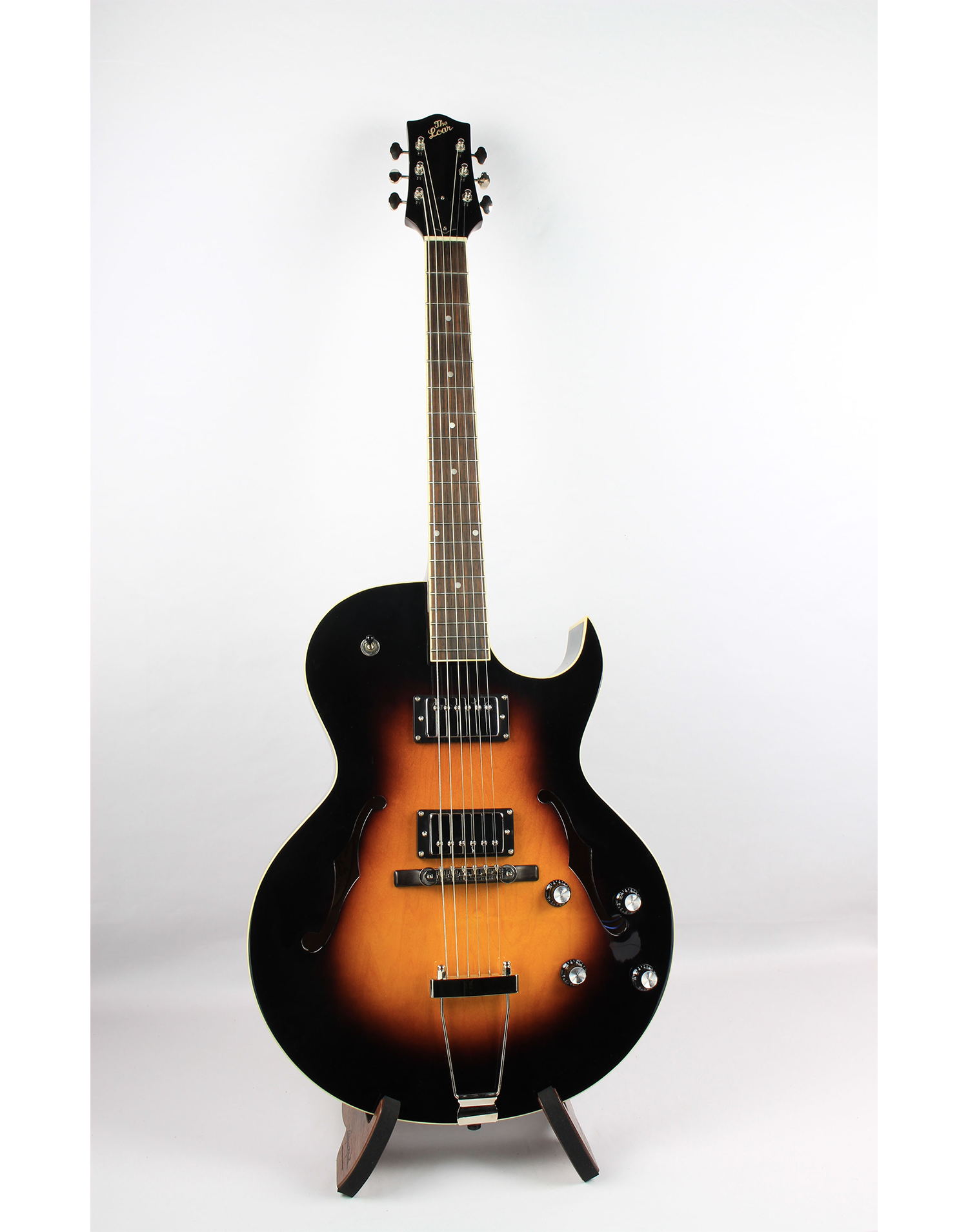 the loar lh280 hollow body archtop electric guitar. Black Bedroom Furniture Sets. Home Design Ideas